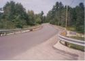 Radiused Steel Beam Guardrail